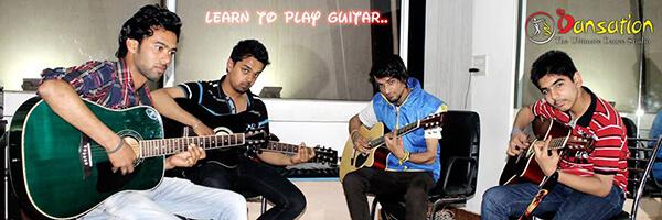 Dansation guitar class